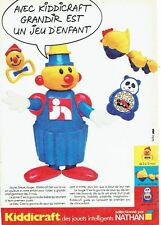Publicité Advertising 057  1984  Nathan  jeux jouets Kiddicraft