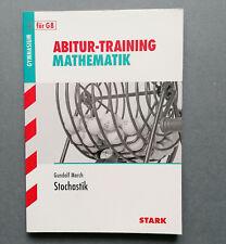 ABITUR Training Mathematik Stochastik Aufgaben mit Lösungen Gymnasium