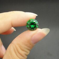 0.85Ct Natural Mined Colombia Green Emerald 5mm Round Cut VVS AAA Loose Gemstone
