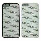 10 X Hard Plastic Blank Sublimation Case Cover for Various Phone Models