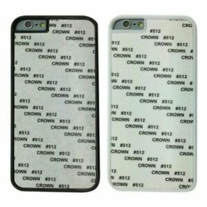 Blank Sublimation Hard Plastic Case Cover For All Phone Models iPhone Samsung