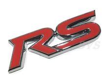 RS TRUNK EMBLEM For Toyota Yaris Belta Vitz Corolla Prius Vios LOGO STICKER