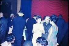 Org Photo Slide 1960's Vietnam war military Base soldier bar restaurant party