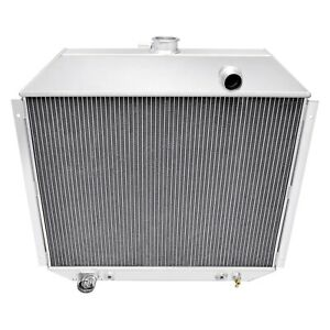 For Ford F-150 75-79 All-Aluminum Downflow Engine Coolant Radiator
