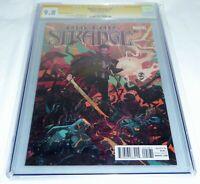 Doctor Strange #1 CGC SS Signed 1:25 Autograph STAN LEE Rebelka Variant CVR 9.8