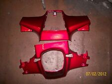 Honda  C90 Cub New Upper and lower Handlebar covers Red