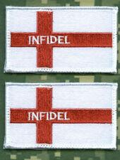 SYRIA IRAQ DAESH WHACKER OIR SFG US ADVISERS INFIDEL ST. GEORGE burdock FLAG X 2