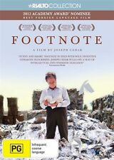 Footnote * Hebrew with English Subtitles * (DVD, 2012) BRAND NEW REGION 4