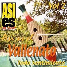 FREE US SHIP. on ANY 2 CDs! NEW CD Various Artists: Asi Es El Vallenato: Todo Se