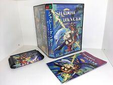 SHADOW DANCER Sega Mega Drive komplett CIB PAL ntsc-j jp  Secret of Shinobi