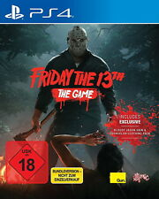Friday the 13th - The Game (Sony PlayStation 4, 2017)