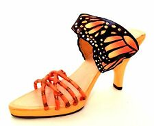 Raine Just The Right Shoe Monarch Butterfly 25364  Miniature Retired 2002