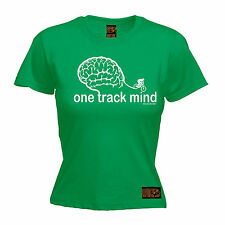 One Track Mind Cycling WOMENS T-SHIRT Cyclist Jersey Bike Funny birthday gift