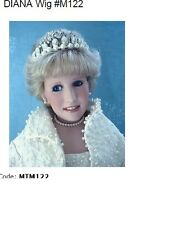 Monique Doll Wig ~ Princess Diana Wig, Size 12-13 - Color Frosted Blonde