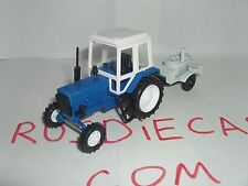 "MTZ 82 Russian tractor ""Belarus"" 1/43 with the trailer Field Kitchen"