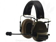 Z-TAC Comtac II Headset Airsoft Softair Military Communication Cuffia