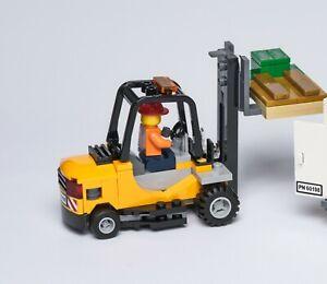 Lego City Eisenbahn Gabelstapler mit Palette 600198 / 60052 / 7939