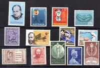 Australia QEII 1960s Collection of 13 Mint Values X8058