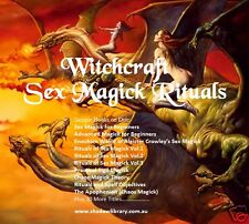 CD - Sex Magick (Magic) - Witchcraft - Rituals - 40 eBooks (Re-Sell Rights)