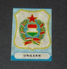 BADGE WAPPEN ECUSSON MAGYAR HONGRIE SICKER PANINI FOOTBALL 1966 ENGLAND 66
