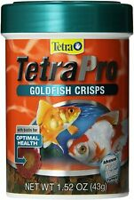 Tetra Goldfish Crisps 1.52 oz Fish Food Optimal Health