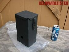 US Military Truck Humvee Metal Winch Tool Gear Metal Storage Box Case NOS 927945a9034