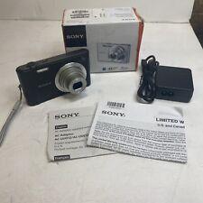 NEWOPEN BOX!!! Sony Cyber-shot DSC-W800 20.1MP Compact Camera - Black