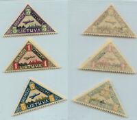Lithuania 1922 SC C15-C17 mint . rtb1050