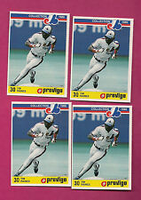 4 X RARE 1986 EXPOS TIM RAINES PROVIGO FOOD MINT CARD  (INV#0103)