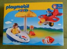 playmobil 123  6050 plane boat figures  playmobil  brand new