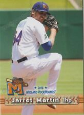 2018 Midland RockHounds Jarret Martin RC Rookie Oakland Athletics