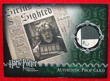 Harry Potter The DAILY PROPHET PROP Card PRISONER of AZKABAN # 28/480 PoA
