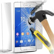 Genuine Premium Tempered Glass LCD Screen Protector for Sony Xperia Z3+ Plus