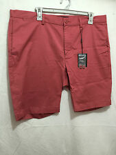 BNWT Mens Sz 38 Myer Blaq Brand Dusty Coral Smart Casual Shorts RRP $70