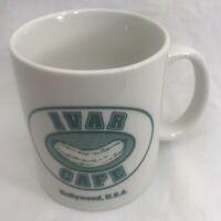 Ivar Cafe Coffee Mug Hollywood Spa Los Angeles Gay Bath House Collectible