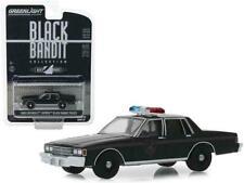 1980 Chevrolet Caprice - Pursuit POLICE Car** Greenlight Black Bandit 1:64 NEU
