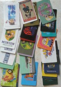 Lot cartes Les Minions