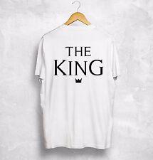 The King His Queen T Shirt Couple Gift Valentines Girlfriend Boyfriend Wifey