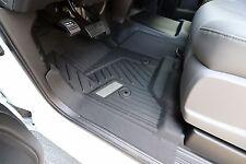 2015-2017 GMC Sierra GM OEM Front All-Weather Floor Mats NEW - Black