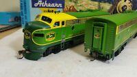 Athearn Genesis John Deere F7 Locomotive train engine f7a & f7b train set HO