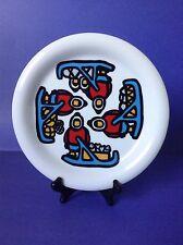 """Marc Tetro Canada Eskimo Inuit Sled Danesco Plate 10"""""""