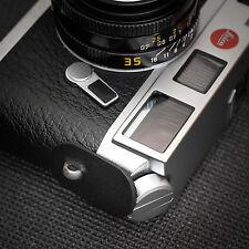 Leica M, Fuji X-Pro2, Camera Leather Strap Protector & Split rings - Black -