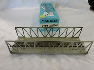 Marklin 7162 HO M Track Metal Truss Bridge