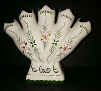 """5 Finger Flower Vase 7 1/2"""" H X 9"""" W"""