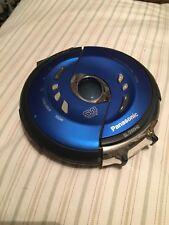 PANASONIC SL-SW940 CD PLAYER PORTABLE Blue Shock Wave Anti-Skip Water Resistant