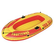 Jilong Tropicana Boat 100 - Bateau À rames gonflable Capacité de Charge 120kg