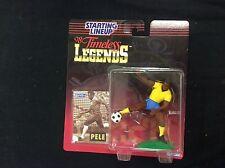 Pele 1998 Starting Lineup Legendary Beginnings in package with card SLU