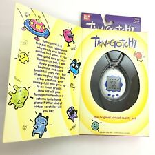 Bandai Tamagotchi White Blue 1997 English ver. stains on package