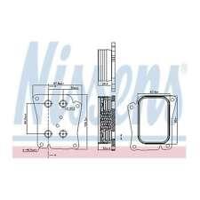 Fits Mercedes E-Class S211 E200 T Kompressor Genuine Nissens Gearbox Oil Cooler