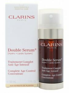 CLARINS ANTI-AGEING FACE DOUBLE SERUM - WOMEN'S FOR HER. NEW. FREE SHIPPING